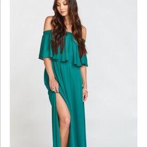 NWT show me your mumu hacienda maxi dress medium